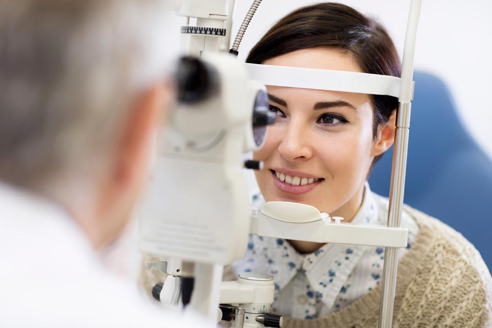 Professional Eye Exams